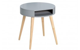 Table d'appoint Design MAN ROUND GREY