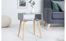Table d'appoint Design MAN CUBE GREY