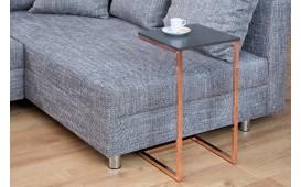Designer Beistelltisch SIMPO 60 cm ANTRACITE COPPER- NATIVO™ Möbel Schweiz