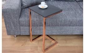 Tavolino d'appoggio di design SIMPO 60 cm ANTRACITE COPPER
