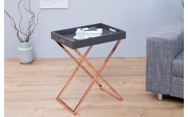Designer Beistelltisch LAVET ANTRACITE COPPER- NATIVO™ Möbel Schweiz