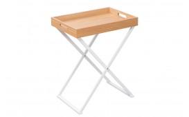 Table d'appoint Design LAVET OAK WHITE