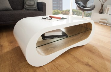 Designer Couchtisch FLOW OAK- NATIVO™ Möbel Schweiz