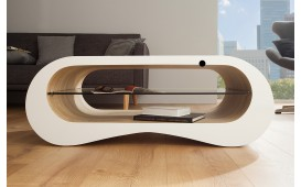 Tavolino di design FLOW OAK