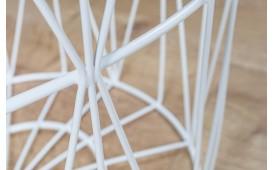 Designer Couchtisch CAGE WHITE  52 cm- NATIVO™ Möbel Schweiz