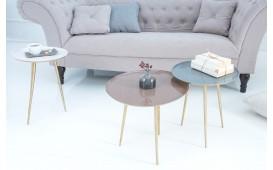 Tavolino d'appoggio di design TRIPLE SET 3