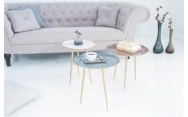 Table d'appoint Design TRIPLE SET 3