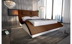 Designer Lederbett SWING- NATIVO™ Möbel Schweiz
