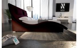 Designer Lederbett SWING v2.0- NATIVO™ Möbel Schweiz