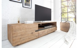Meuble TV Design GOTAMA AKACIA 170 cm