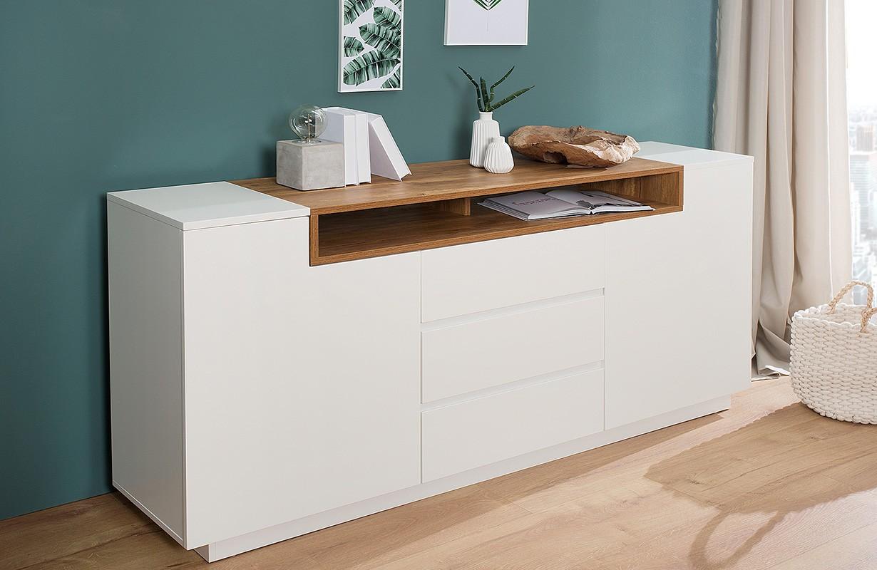 Designer Sideboard State Oak 180 Cm Einfach Und Günstig Online Kaufen