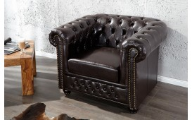 Designer Relaxsessel CHESTERFIELD COFFEE Ab Lager