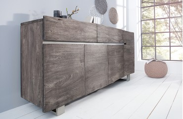 Designer Sideboard TAURUS GREY NATIVO™ Möbel Schweiz