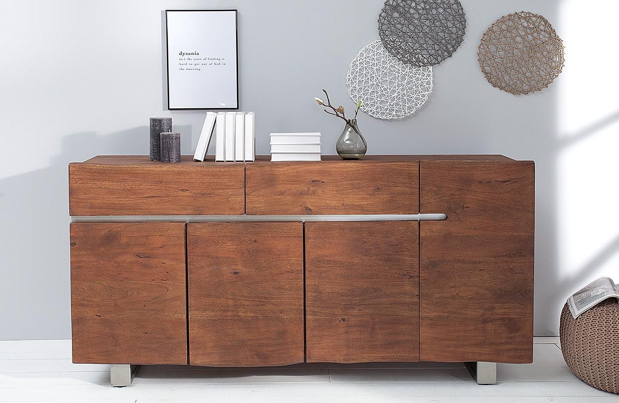 Designer Sideboard Taurus Dark Einfach Und Günstig Online Kaufen