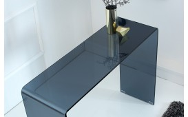 Designer Konsole CLEAR ANTRACITE 100 cm NATIVO™ Möbel Schweiz