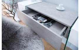 Console Design DUO CONCRETE 120 cm