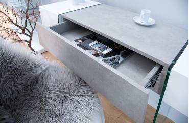 Designer Konsole DUO CONCRETE 120 cm NATIVO™ Möbel Schweiz