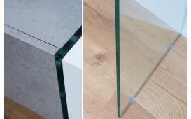 Consolle di design DUO CONCRETE 120 cm