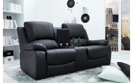 Designer Lounge Sessel CINEMA BLACK