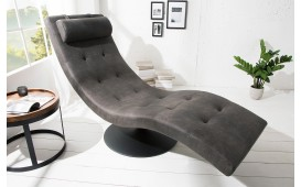 Designer Lounge Sessel LUXO GREY