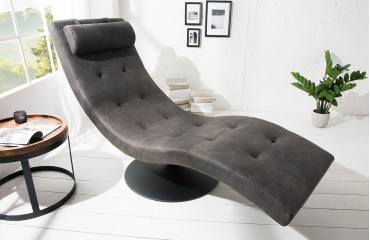 Designer Lounge Sessel LUXO GREY NATIVO™ Möbel Schweiz