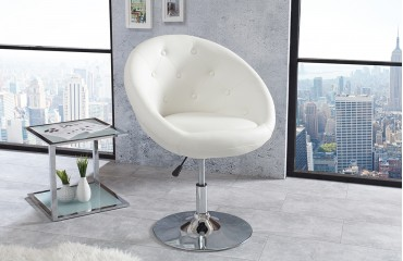 Fauteuil Lounge STYLE WHITE