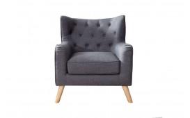 Designer Lounge Sessel HAAG ANTHRACIT NATIVO™ Möbel Schweiz