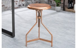 Designer Sitzhocker FABRIK COPPER