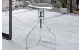 Designer Sitzhocker FABRIK SILVER NATIVO™ Möbel Schweiz
