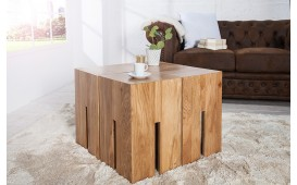 Pouf di design FORTRESS OAK 45 cm