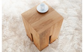 Tabouret Design FORTRESS OAK 45 cm