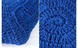 Tabouret Design BOHO STAR BLUE