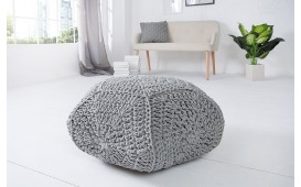 Pouf di design BOHO STAR GREY