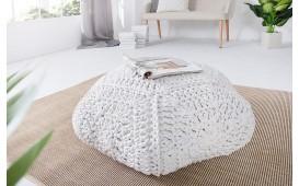 Tabouret Design BOHO STAR WHITE