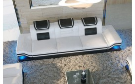 3 Sitzer Sofa ROUGE mit LED Beleuchtung & USB Anschluss