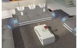 3 Sitzer Sofa CLERMONT mit LED Beleuchtung NATIVO™ Möbel Schweiz