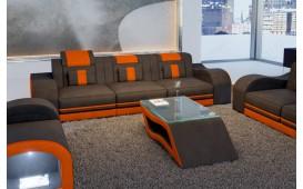 3 Sitzer Sofa HERMES mit LED Beleuchtung NATIVO™ Möbel Schweiz
