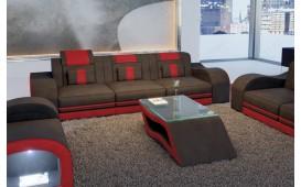 Canapé Design 3 places HERMES avec éclairage LED