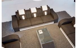 Divano di design a 3 posti HERMES con illuminazione a LED