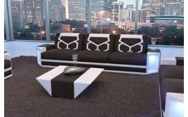Canapé Design 3 places AVENTADOR avec éclairage LED