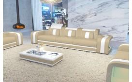 Canapé Design 3 places SPACE avec éclairage LED