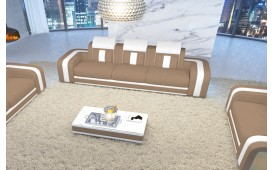 Divano di design a 3 posti SPACE con illuminazione a LED