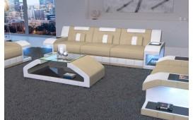 Divano di design a 3 posti MATIS con illuminazione a LED