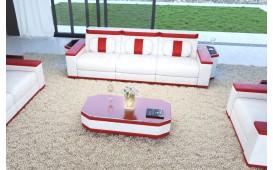 Canapé Design 3 places CESARO avec éclairage LED