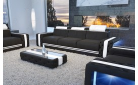 3 Sitzer Sofa IMPERIAL mit LED Beleuchtung