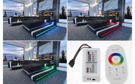 Divano di design a 3 posti IMPERIAL con illuminazione a LED