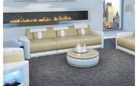 Canapé Design 3 places ATLANTIS avec éclairage LED
