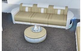 3 Sitzer Sofa ATLANTIS mit LED Beleuchtung