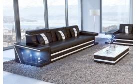 3 Sitzer Sofa CAREZZA mit LED Beleuchtung NATIVO™ Möbel Schweiz