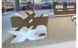 Divano di design a 2 posti MYSTIQUE con illuminazione a LED  e presa USB